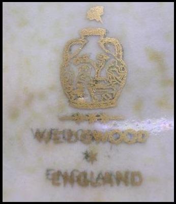 Wedgwood England Mark with Portland Vase