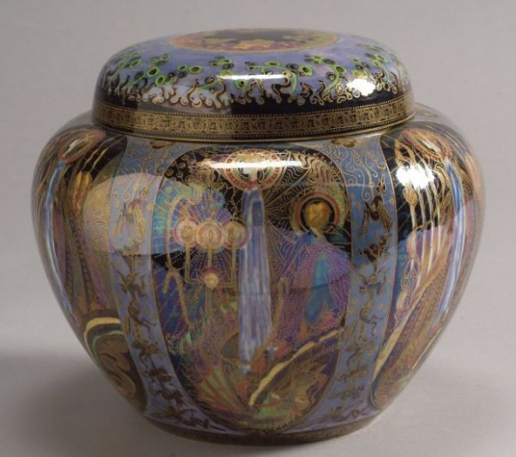 Fairyland Lustre Pattern Z5154 Vase