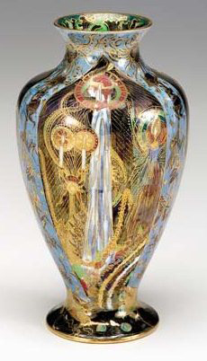 Fairyland Lustre Pattern Z5157 Vase