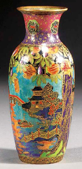 Fairyland Lustre Pattern Z5228 Vase