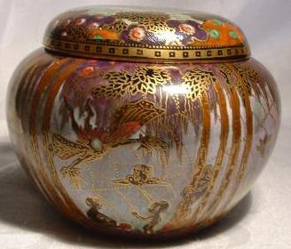 Fairyland Lustre Pattern Z5252 Vase
