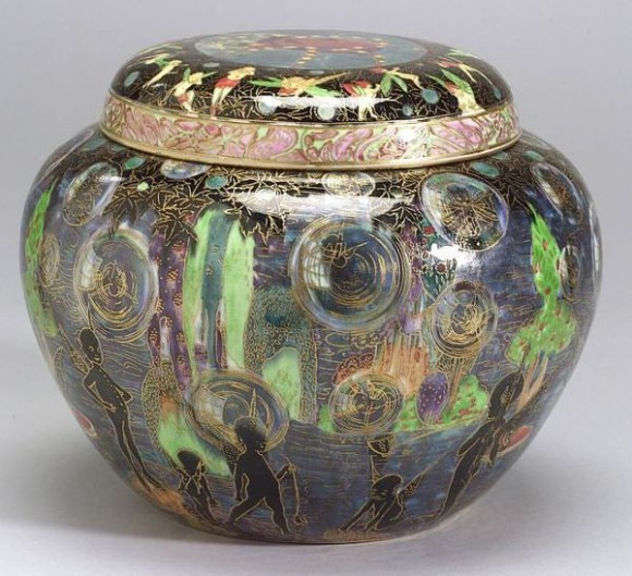 Fairyland Lustre Pattern Z5257 Vase