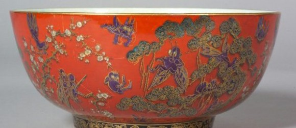 Fairyland Lustre Pattern Z5275 Vase