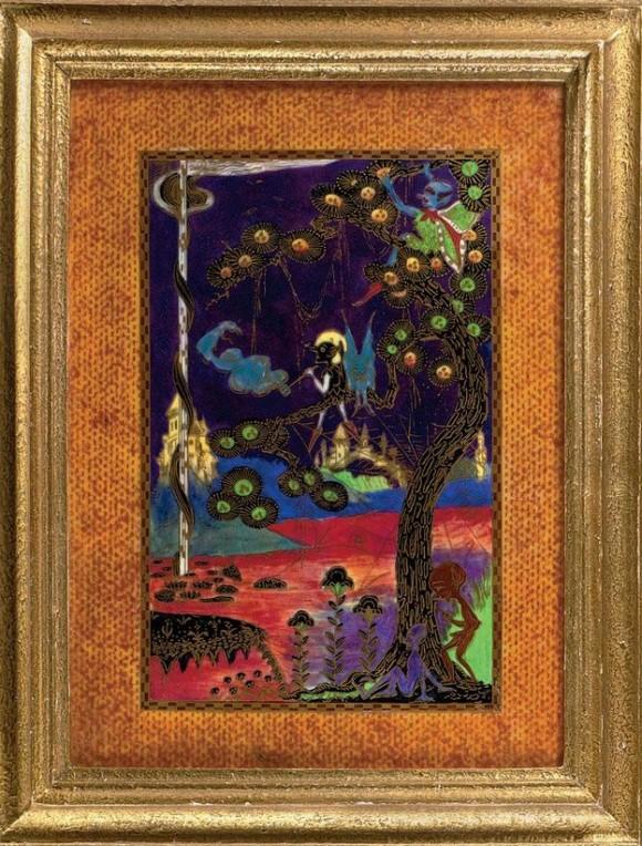 Fairyland Lustre Pattern Z5287 Vase