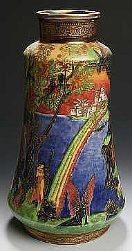 Fairyland Lustre Pattern Z5366 Vase