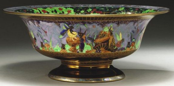 Fairyland Lustre Pattern Z5443 Vase