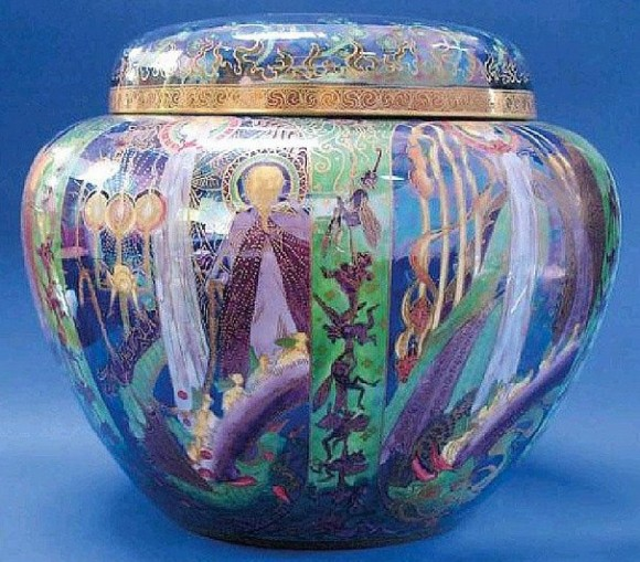 Fairyland Lustre Pattern Z5461 Vase
