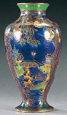 Fairyland Lustre Pattern Z5464 Vase