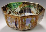 Fairyland Lustre Boxing Match Bowl