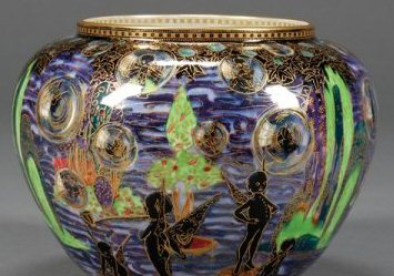 Fairyland Lustre Bubbles Bowl