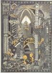Fairyland Lustre Elfin Palace Plaque