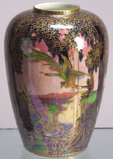 Fairyland Lustre Feng Hwang Vase