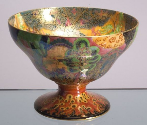 Fairyland Lustre Garden of Paradise Bowl