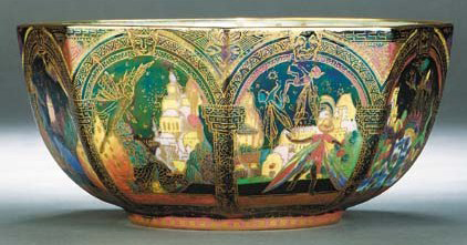 Fairyland Lustre Gargoyles Bowl