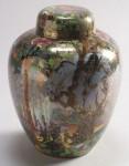 Fairyland Lustre Ghostly Wood Vase