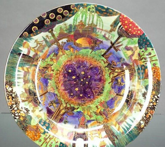 Fairyland Lustre Gondola Bowl