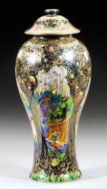 Fairyland Lustre Jewelled Tree Vase
