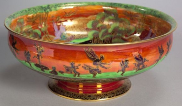 Fairyland Lustre Leapfrogging Bowl