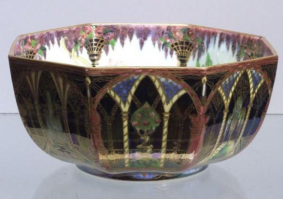 Fairyland Lustre Moorish Bowl