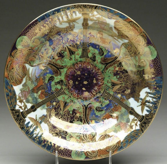 Fairyland Lustre Pillar Plate