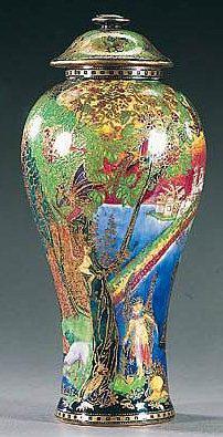 Fairyland Lustre Rainbow Vase