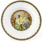 Fairyland Lustre Si Wang Mu Plate