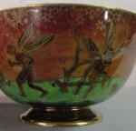 Fairyland Lustre Toadstool Bowl