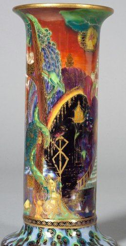 Fairyland Lustre Torches Vase