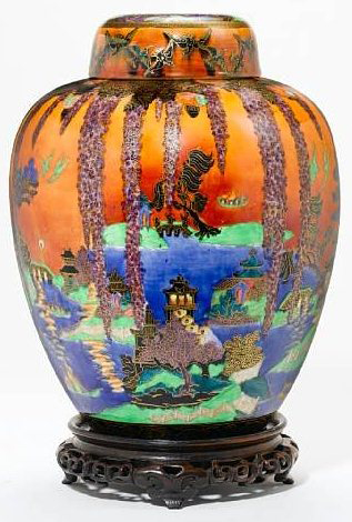 Fairyland Lustre Willow Vase